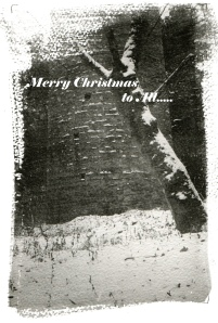 Copely Chimney Xmas Card